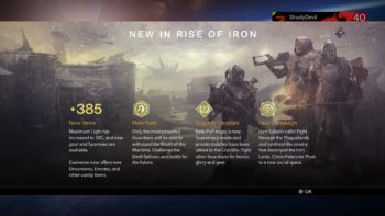 Destiny Guide – How To Access Rise Of Iron Content