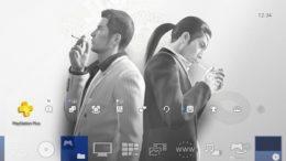 Yakuza 0 PS4 theme