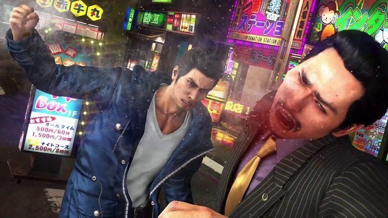 Yakuza 6 no loading screens