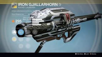 Destiny Guide: How to Get The Year 3 Gjallarhorn in Rise of Iron