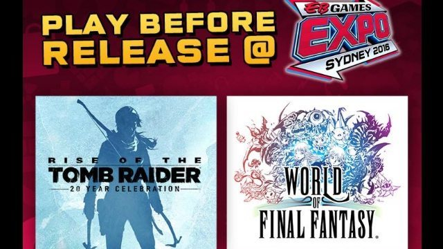Rise of the Tomb Raider World of Final Fantasy Image