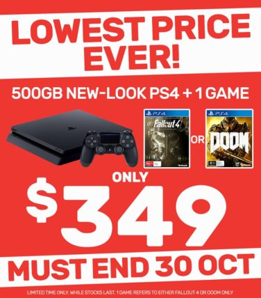 EB Games Australia Drops PS4 Slim Price To Lowest Ever In A Sale