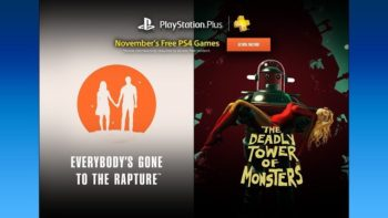 Free PlayStation Plus Games For November 2016 Revealed