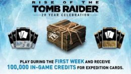 Rise of the Tomb Raider PS4 Promotion
