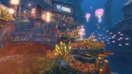 Rocket League AquaDome Update