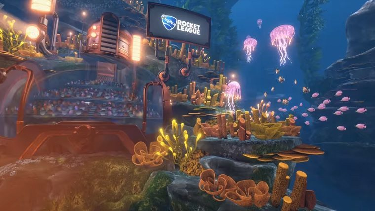 Rocket League AquaDome Update