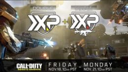 Call Of Duty: Infinite Warfare Double XP Event Happening This Weekend