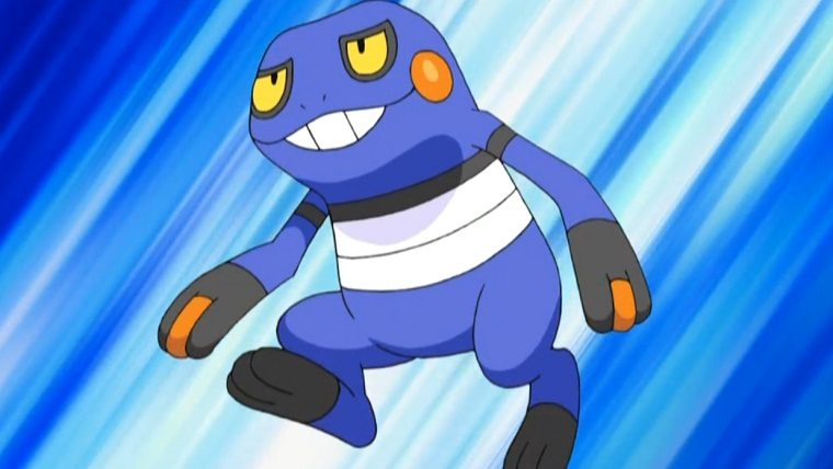 Croagunk-Pokemon