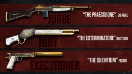 Mafia 3 golden guns