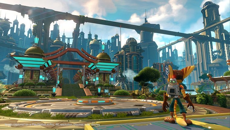 Ratchet & Clank PS4 Pro support