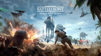 Star Wars Battlefront Rogue One DLC Trailer Shows Scarif Battle