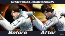 King of Fighters 14 graphical update patch