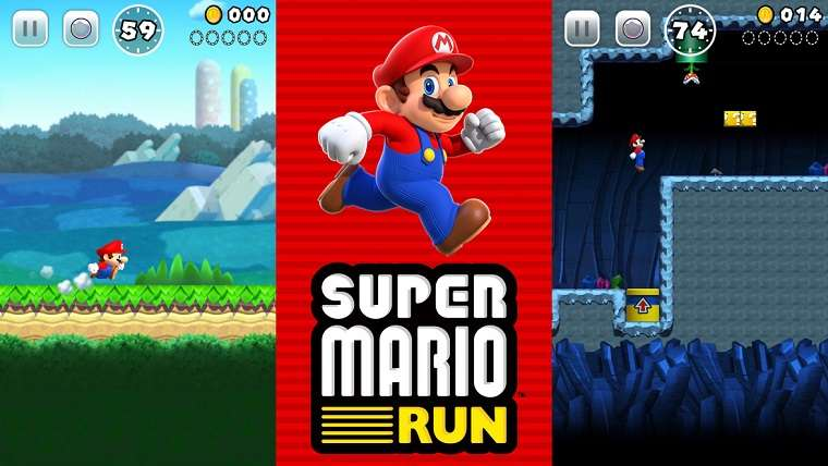 Super Mario Run Nintendo Mobile Games mobile fire emblem heroes