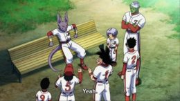 Dragon Ball Super Episode 70 Review: Universe 7 vs Universe 6 In Baseball