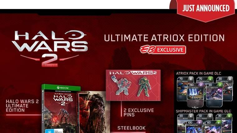 Halo Wars 2 Ultimate Atriox Edition Announced By EB Games