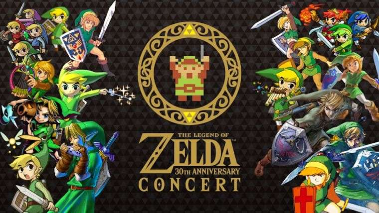 The Legend of Zelda 30th Anniversary Concert CD/DVD Is Up On Amazon News  The Legend of Zelda: Breath of the Wild The Legend of Zelda