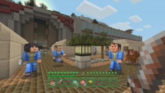 Minecraft and Fallout Combine in New Mash-Up Pack for Consoles