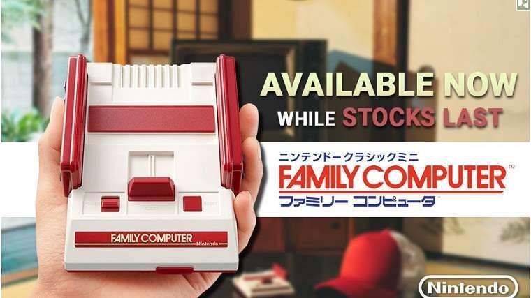 Japan NES Classic Mini Famicom In Stock At Play Asia News  Nintendo NES Classic
