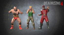 Dead Rising 4 Street Fighter Outfits