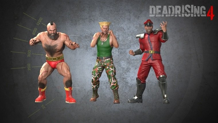 Dead Rising 4 Street Fighter Outfits Update