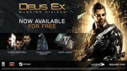 Deus Ex Mankind Divided Pre-Order Content Free