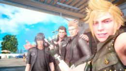 Final Fantasy 15 Selfies Update