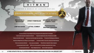 Hitman's January Update Adds Professional Difficulty Level