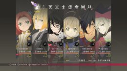 Tales of Berseria leveling up