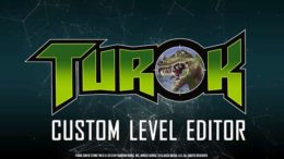 Turok PC Remaster's Level Editor Featured In New Trailer