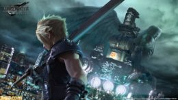 Final fantasy 7 Remake Famitsu art