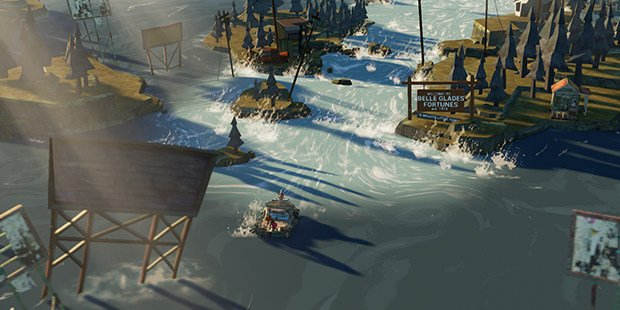 The Flame in the Flood PS4 Port Review: An Apocalyptic Aesop Reviews  The Molasses Flood The Flame in the Flood PS4 PC GAMES