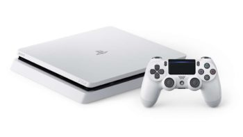 Sony Announces PlayStation 4 Slim Glacier White for PAL Region and Asia