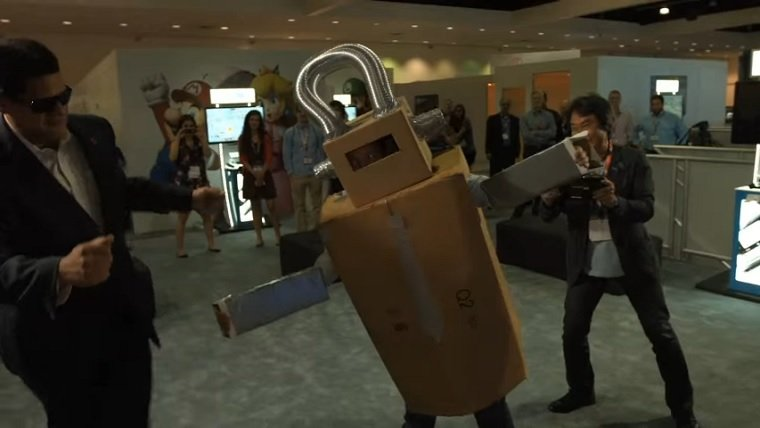 Project Giant Robot Canceled