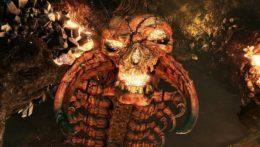 Nioh Great Centipede boss fight