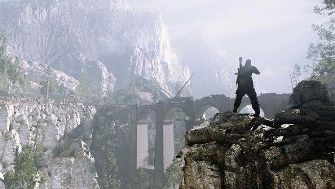 Sniper Elite 4 bridge