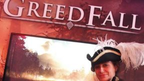Spiders Games presenting new RPG Greedfall at a Press Event