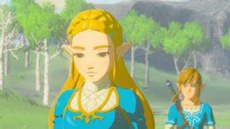 New The Legend of Zelda: Breath of the Wild Trailer Showcases Link & Zelda
