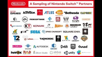 Over 100 Games Are Now In Development For Nintendo Switch