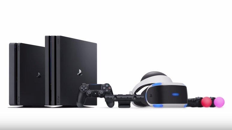 PlayStation 4 Slim Pro VR