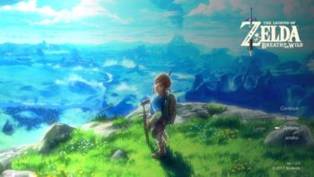 The Legend of Zelda: Breath of the Wild has Gorgeous Title Screens
