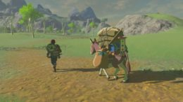 The Legend of Zelda: Breath of the Wild Screenshot Shows New Traveling Merchants