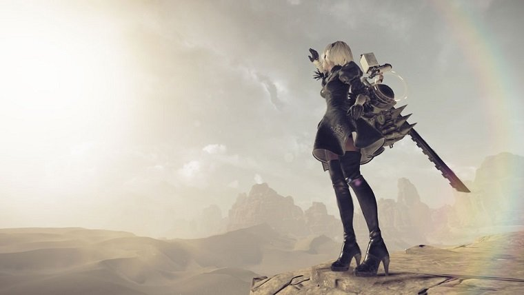 Automata DLC Revealed Where You Can Fight Square Enix CEO — Nier