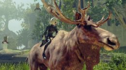 NieR Automata How To Ride Animals