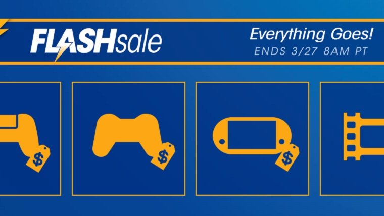 PSN Everything Goes Flash Sale