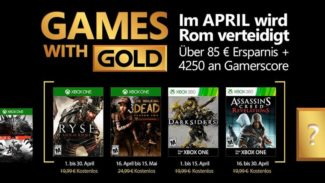 April Xbox Live Games With Gold Titles Accidentally Revealed