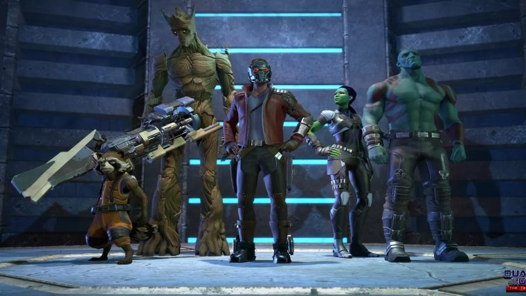 Telltale's Guardians of the Galaxy is not set in the Movie or Comic Universe News  Telltale PAX East Guardians of the Galaxy