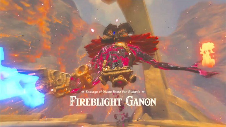 Breath Of The Wild Bosses >> Zelda Breath Of The Wild Boss Guide How To Beat Fireblight Ganon