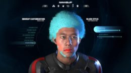 See Mass Effect: Andromeda's Intense Character Customization in Action