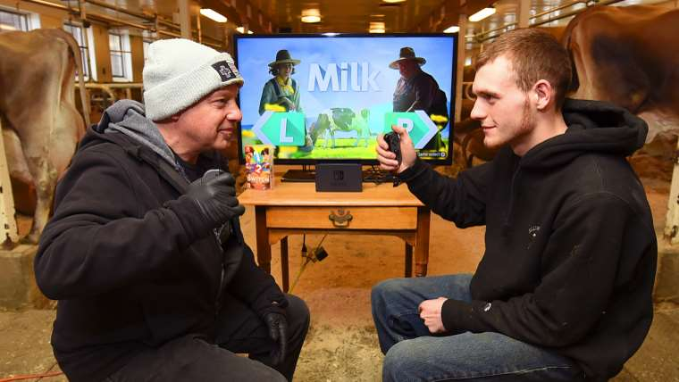 Nintendo Went Head-to-Head Against Real Dairy Farmers in 1-2-Switch News  Nintendo Switch 1-2-Switch