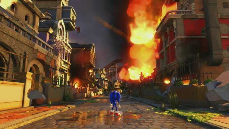 Articles  Sonic Forces Sega Nintendo Switch